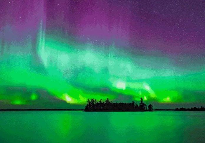High-res Timelapse Video Aurora Borealis Amazing