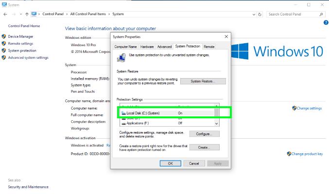 restore-point-in-windows-10
