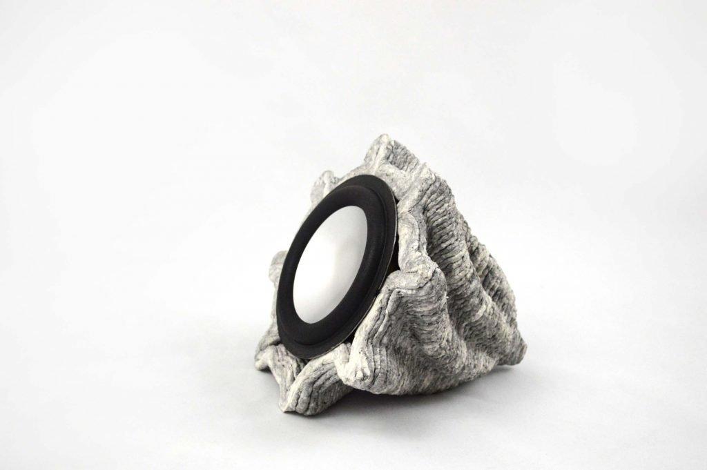 Paper Pulp Printer 3D Speaker model