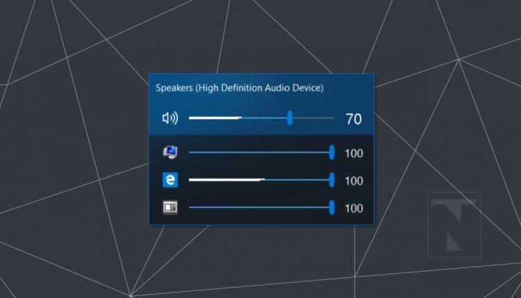 EarTrumpet: a Volume Mixer alternative for Windows 10 that rocks