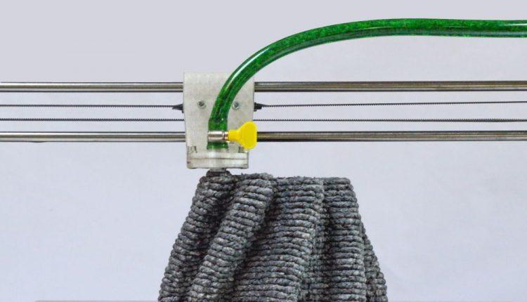 PaperPulpPrinter: world's first paper pulp-based 3D printer
