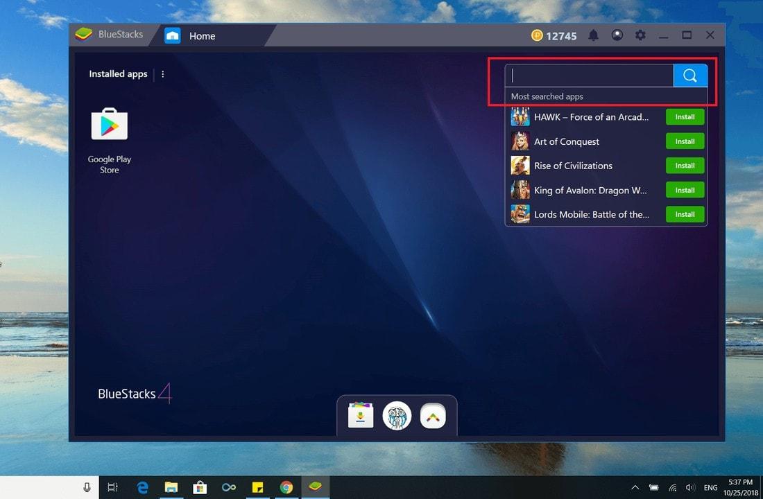 BlueStacks 4 110 0 3101 latest version download link & changelog
