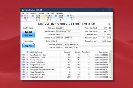 CrystalDiskInfo 8 2 4 download information / full changelog